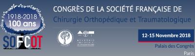 Congrès annuel de la SOFCOT, Dr Ferreira et Dr Cognault présents au centenaire.
